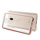 Прозрачный силиконовый чехол для Xiaomi Mi 5s Plus с глянцевой окантовкой, фото 3