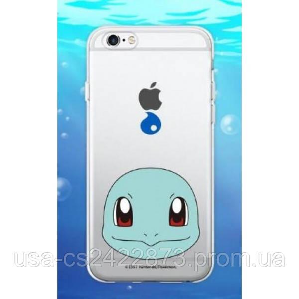 "Epik Прозрачный силиконовый чехол ""Pokemon Go"" для Apple iPhone 5/5S/SE"