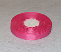 Лента репсовая тёмно-розовая 1,2 см 16762, фото 1