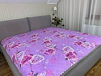 """""""нежное сиреневое"""" летнее одеяло покрывало двуспальный размер 175/205"""