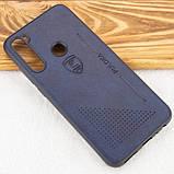 Кожаный чехол-накладка PULOKA Desi для Xiaomi Redmi Note 8, фото 5