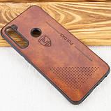 Кожаный чехол-накладка PULOKA Desi для Xiaomi Redmi Note 8, фото 6