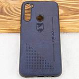 Кожаный чехол-накладка PULOKA Desi для Xiaomi Redmi Note 8, фото 8
