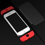 Пластиковая накладка GKK LikGus 360 градусов для Apple iPhone 5/5S/SE, фото 3