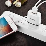 СЗУ Hoco C11 USB Charger 1A (+кабель microUSB 1м), фото 4