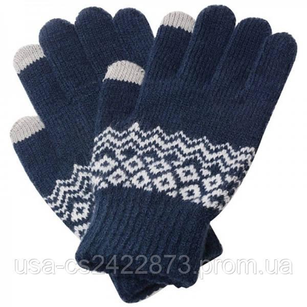 Перчатки сенсорные SHOU с узором
