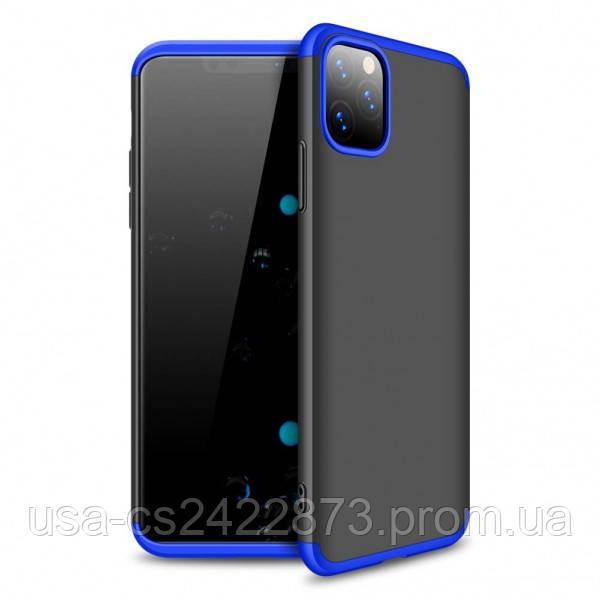 "GKK Пластиковая накладка GKK LikGus 360 градусов для Apple iPhone 11 Pro Max (6.5"")"