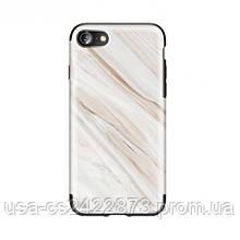 "TPU чехол Rock Origin Series (Textured marble) для Apple iPhone 7 / 8 (4.7"")"