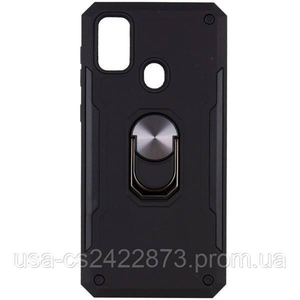 Epik Ударопрочный чехол SG Ring Color магнитный держатель для Samsung Galaxy M30s / M21