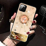 "TPU+Glass чехол TYBOMB Shinig Line для Apple iPhone 11 Pro (5.8""), фото 4"