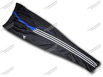 Штаны зауженные ADIDAS синие полоски