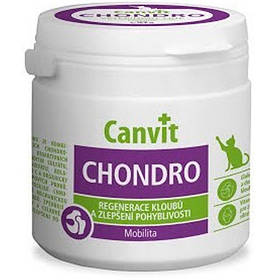 Вітамінна добавка Canvit Chondro for Cats для регенерації суглобів для кішок, 100 г