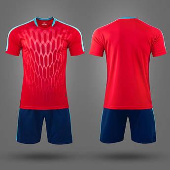Футбольная форма M8612 (Красно-синяя)