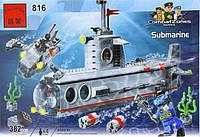 "Конструктор Brick 816 ""Субмарина"", Конструктор Брик"
