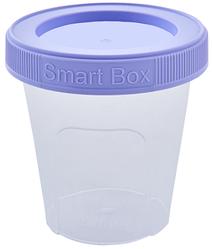 """Контейнер """"Smart Box"""", круглый 180мл с закручивающейся крышкой"""