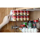 Органайзер для специй и соусов - Clip n Store. Кухонный органайзер для специй и соусов в шкаф или холодильник., фото 6