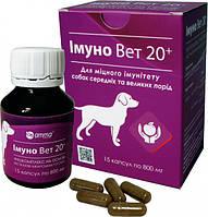 ИММУНО ВЕТ AMMA Индия 15 капсул  для котов и собак мелких пород