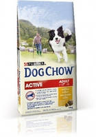 DOG CHOW (Дог чау) Active сухой корм для собак с курицей, 14кг