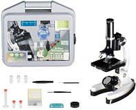 Детский портативный беспроводный Микроскоп в чемодане, c 300х, 600х, 1200х - кратным увеличением, HC205454