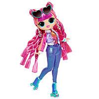 Кукла ЛОЛ Диско-скейтер 3 серия L.O.L. Surprise! Roller Chick