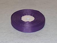 Лента репсовая тёмно-сиреневая 1,2 см 16771, фото 1