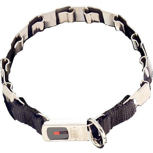 Строгий ошейник Sprenger Neck-Tech Fun для собак, с замком ClicLock, нержавеющая сталь маттовая, 48 см