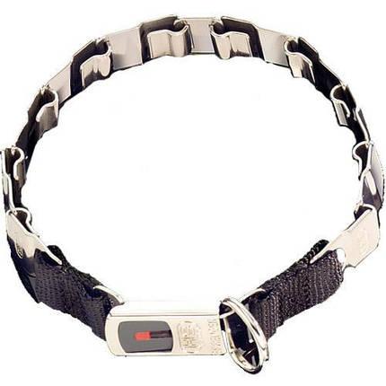 Строгий ошейник Sprenger Neck-Tech Fun для собак, с замком ClicLock, нержавеющая сталь маттовая, 48 см, фото 2