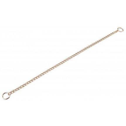Ланцюжок-нашийник Sprenger для собак, з круглим ланкою, курогановая сталь, 2.5 мм, 45 см, фото 2