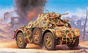 AUTOBLINDA AB 43. Сборная модель бронеавтомобиля в масштабе 1/48. ITALERI 6603