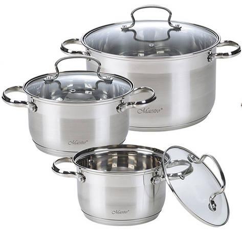 Набор посуды MR-3520-6M кастрюли, фото 2