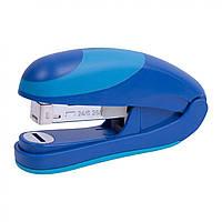 """Степлер """"Axent"""" 25 листов №4804-02 Ocean Flat Clinch пластиковый синий (12) №24 / 6"""