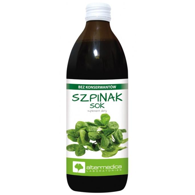 Сок из шпината 100% натуральный 500 мл, Altermedica