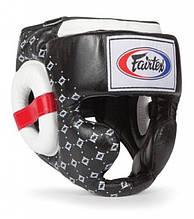 Защитный шлем Fairtex HG10, XL, черный