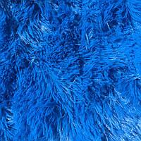 "Плед меховой Травка ""Синий"" евро размер, 220/240 см"