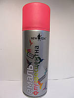 Эмаль флуоресцентная Newton Красная RAL 3026 400м
