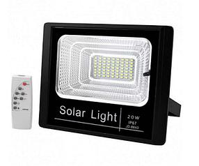 Прожектор на солнечной батарее FOYU 20 Вт Черный FO-8820, КОД: 1551827