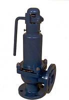 Клапан предохранительный пружинный фланцевый СППК4Р
