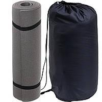 Спальный мешок - одеяло (Спальник) 210х70см Походный Весна/Лето Синий + Каремат