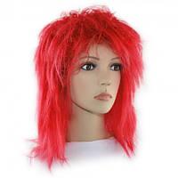 Парик из искусственных волос каре-Каскад (красный)