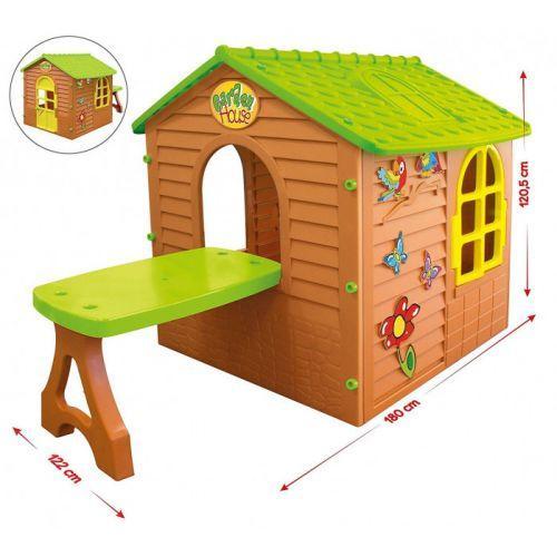 Дитячий ігровий будиночок 11045 Mochtoys столик, стілець
