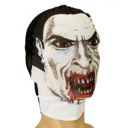 Карнавальная чулок маска Вампир светлая