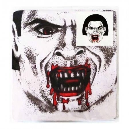 Карнавальная чулок маска Вампир светлая, фото 2