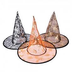 Капроновая шляпа в форме колпака (красная), фото 3