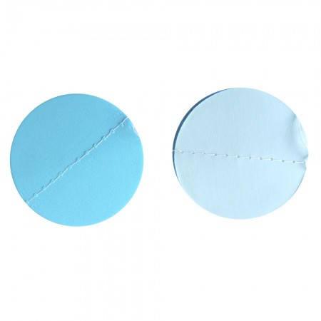 Бумажная гирлянда 3Д для праздника Шарики (голубой), фото 2
