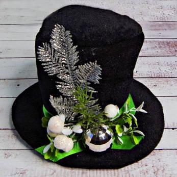 Новогодняя маскарадная шляпка Ноэль 9218, фото 2
