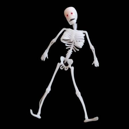Игрушка прикол резиновый скелет 30см, фото 2