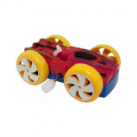 Заводная механическая игрушка для детей Перевертыш Спорткар, фото 2