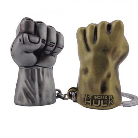 Оригинальный брелок супергерои марвел 5013 объемный Рука Халка