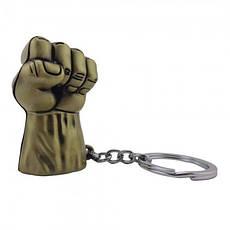 Оригинальный брелок супергерои марвел 5013 объемный Рука Халка, фото 2