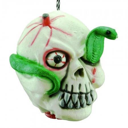 Декоративная оторванная резиновая голова для вечеринки со змеей, фото 2